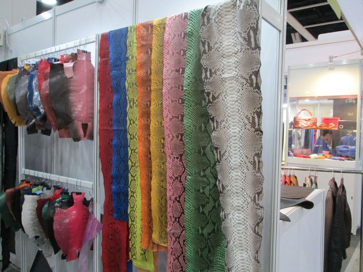 Exotic leather in Hong Kong