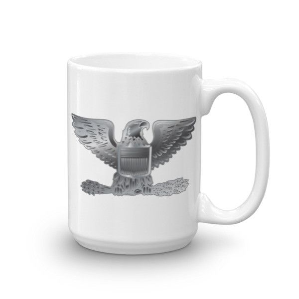 Military Officer Colonel Mug