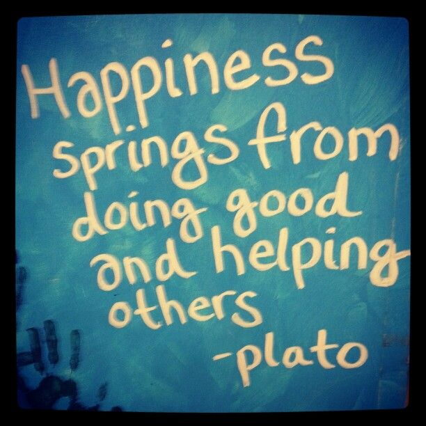 plato as well as happiness
