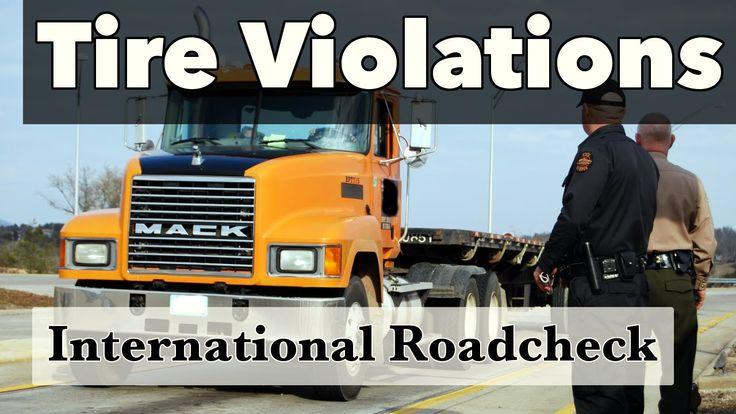 International Roadcheck 2016 | Tips for Avoiding Tire Violations