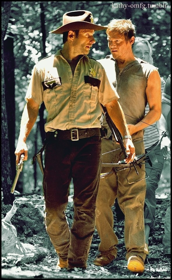Rick and Daryl- Season 2
