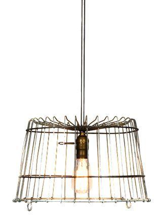 Best 25+ Wire basket chandelier ideas on Pinterest | Cheap light ...