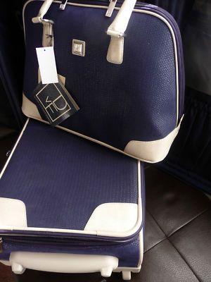 $169.00 Just yummy travel gear -- (DVF) Diane Von Furstenberg 2 PC Designer Luggage
