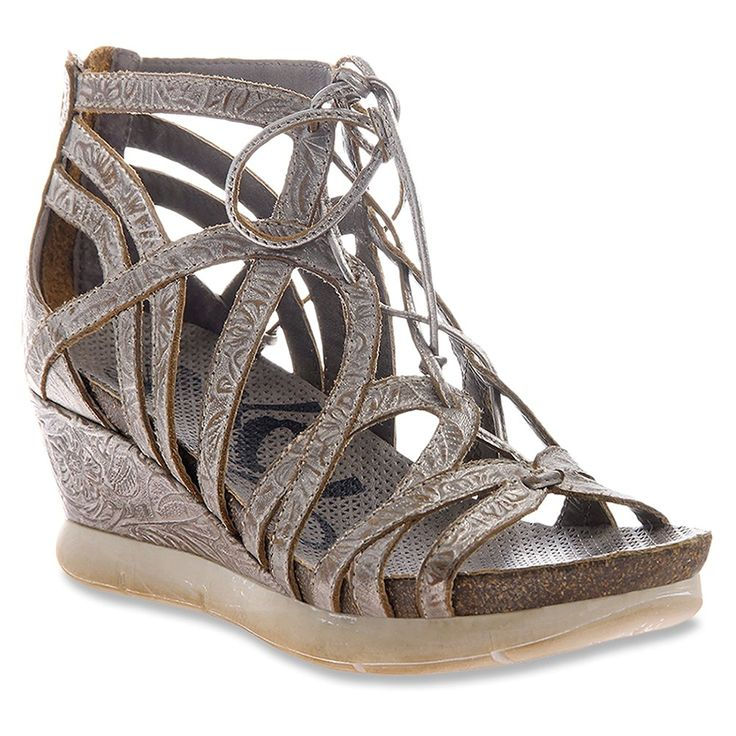 OTBT Women's Nomadic Light Pewter Sandal 6.5 M -- Awesome product. Click  the image