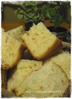 「HB*ベーコン×ガーリックペッパー食パン」ゆりん | お菓子・パンのレシピや作り方【corecle*コレクル】