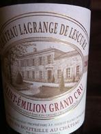 Saint-Emilion Grand Cru  - Chateau Lagrange De Lescure was a nice birthday treat.