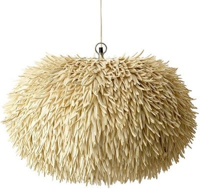 Anemone Lamp (Philippines), made from coco sticks, which are carved from coconuts. Art Propelled: February 2009
