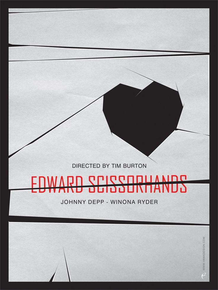 Alternate Edward Scissorhands poster