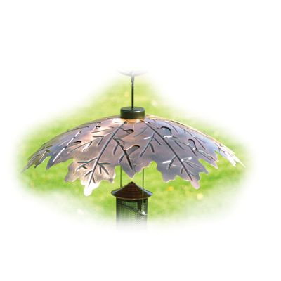 "COPLEAF18  Leaf Weather Shield 18"" Brushed Copper Weather Shield Capacity: N/A Dimensions: 18"" Dia. X 5"" H"