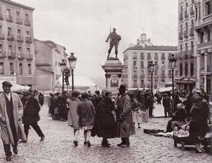 Caminando por Madrid: El origen del nombre de El Rastro
