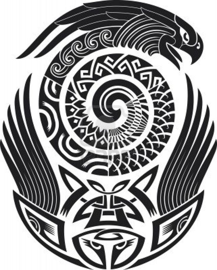 Tribal Tattoo Pattern
