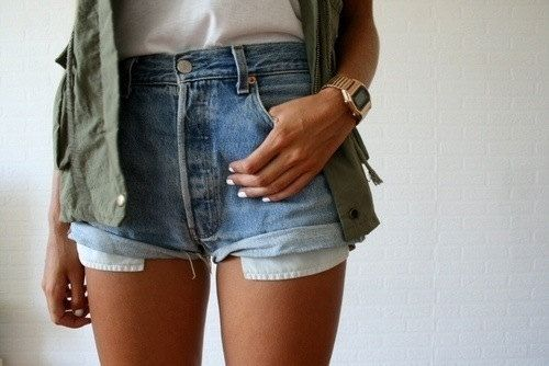 ALL SIZES Vintage HELIOS High Waisted Denim Shorts by MintThreads, $15.00
