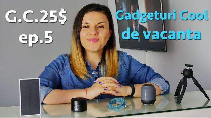 5 Gadgeturi cool pentru vacanță - Gc 25$ ep.5 . În episodul de astăzi ți-am pregătit 5 Gadgeturi Cool pentru vacanță sub 25$. Sunt portabile și îți vor fi de ajutor,indiferent de destinație https://www.gadget-review.ro/5-gadgeturi-cool-pentru-vacanta/