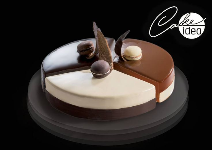 Why being content with a single cake? Thanks to Trilogy you can prepare three desserts in one. Find out the other Cake Idea shapes: http://goo.gl/LZRKrU  #CakeIdea #Martellato