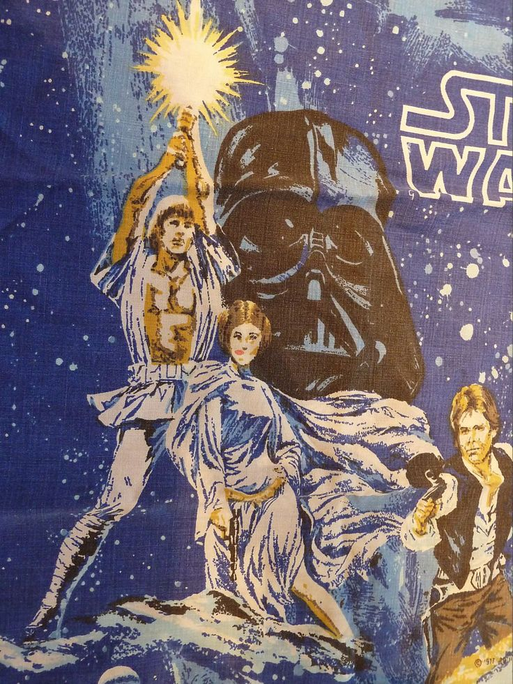 Star Wars Vintage Twin Size Pillow Case by SouthamptonCreations on Etsy