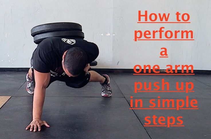 How to do a One Arm Push Up