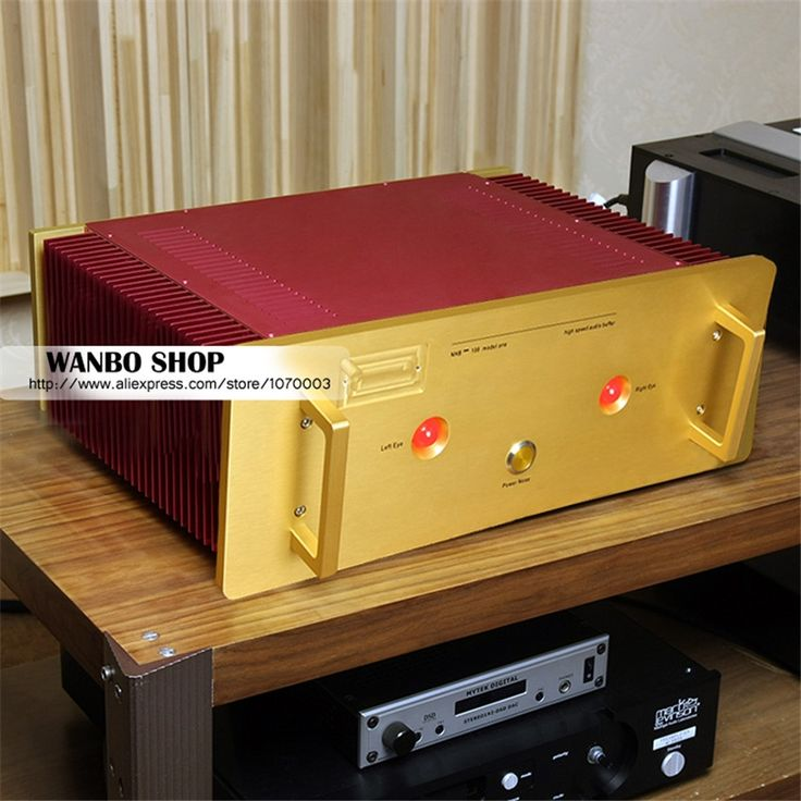 1245.00$  Buy now - http://ali837.worldwells.pw/go.php?t=32696769527 - Study/Copy Dartzeel NHB108 super value Version power amplifier HIFI AMP NO Negative feedback amplifier circuit power AMP 1245.00$