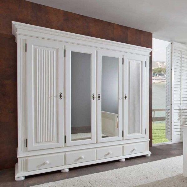 45+ Schlafzimmer landhausstil massiv weiss ideen