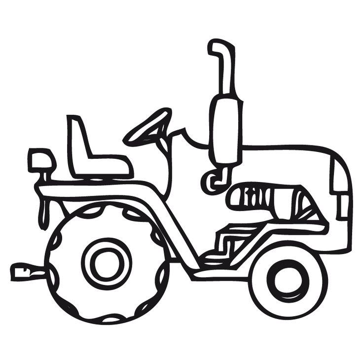 Tractores Para Pintar | Pintar imágenes