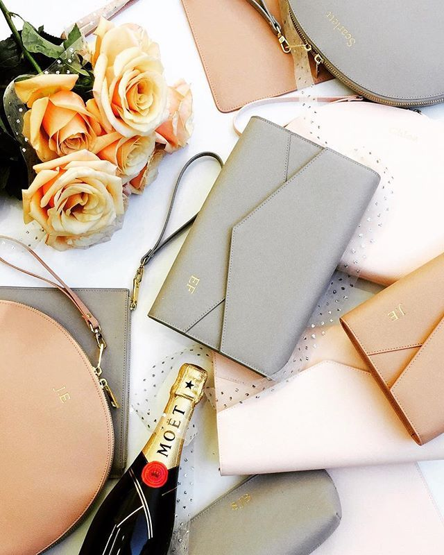 Sunday celebrations on a #longweekend = all kinds of blissful 💗 . . #weekend #wedding #weddingphotos #bridesmaids #makingmemories #weddingplanning #weddingideas #isaidyes #modernbride #elegant #weddinginspiration #bridetobe #imgettingmarried #leather #bag #handbag #clutch #envelopeclutch #fashion #personalised #giftideas #gift #gifts #pouch #flatlay #itsallinthedetails #thenewlook_aus