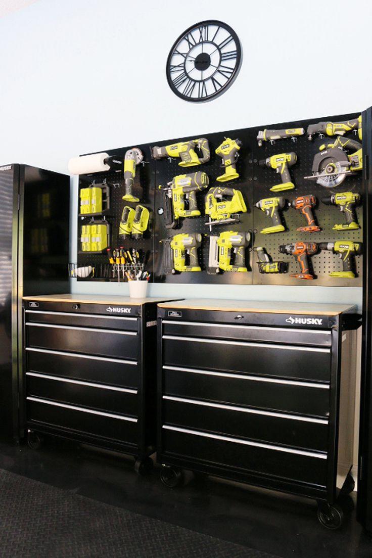 garage tool box ideas - 25 Best Ideas about Dream Garage on Pinterest