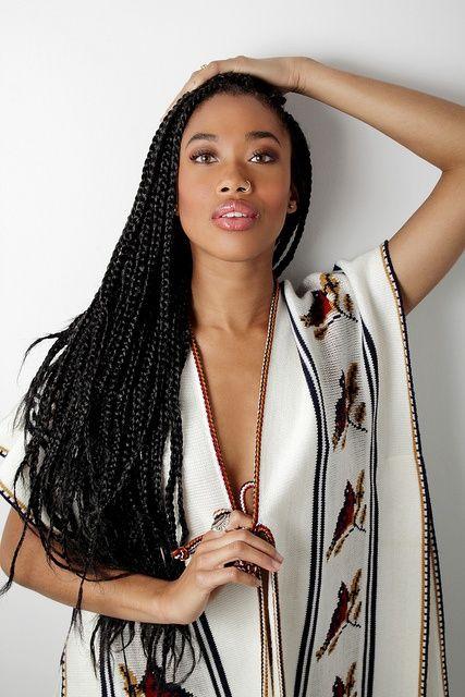 COISAS DE CRIOLA: Box braids - tranças de kanekalon
