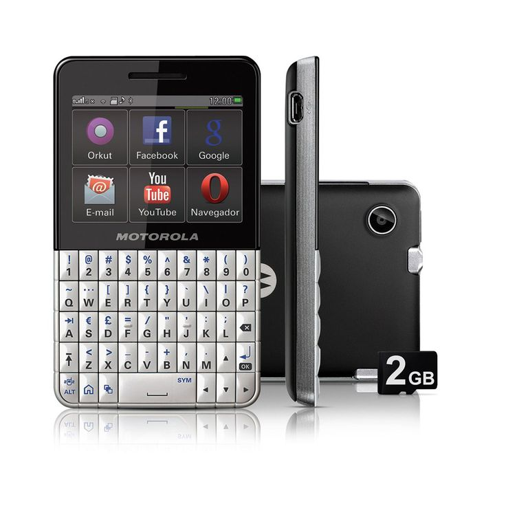 A stylish QWERTY keypad and touchscreen mobile phone known as Motorola EX119.