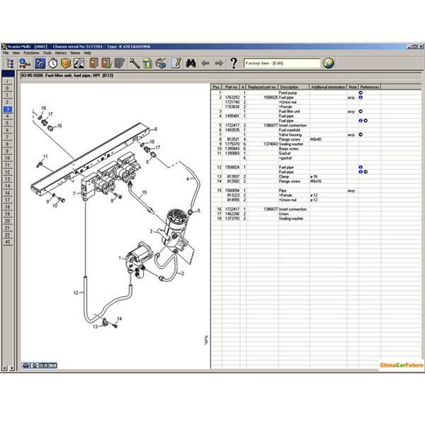 Us 32 99 Scania Multi 2014 Spare Parts Catalog Service Information Chinaobd2 Com Parts Catalog Spare Parts Catalog