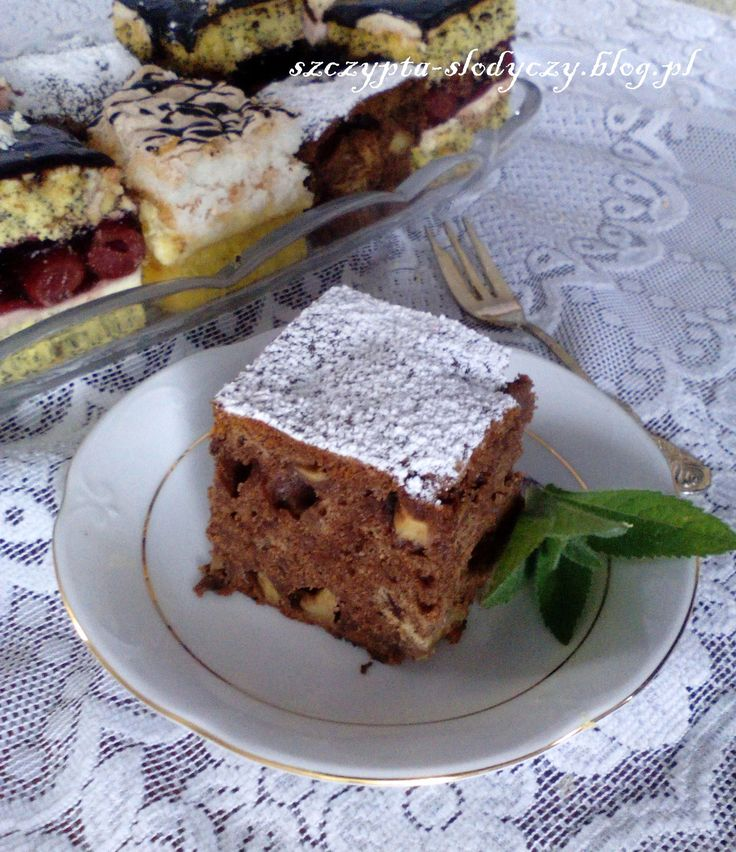 Ciasto Salceson z jabłkami PRZEPIS