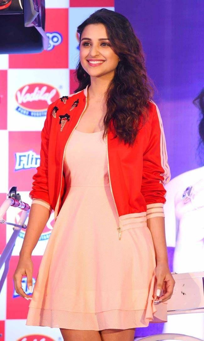 Parineeti Chopra at an event for Vadilal Ice Cream.