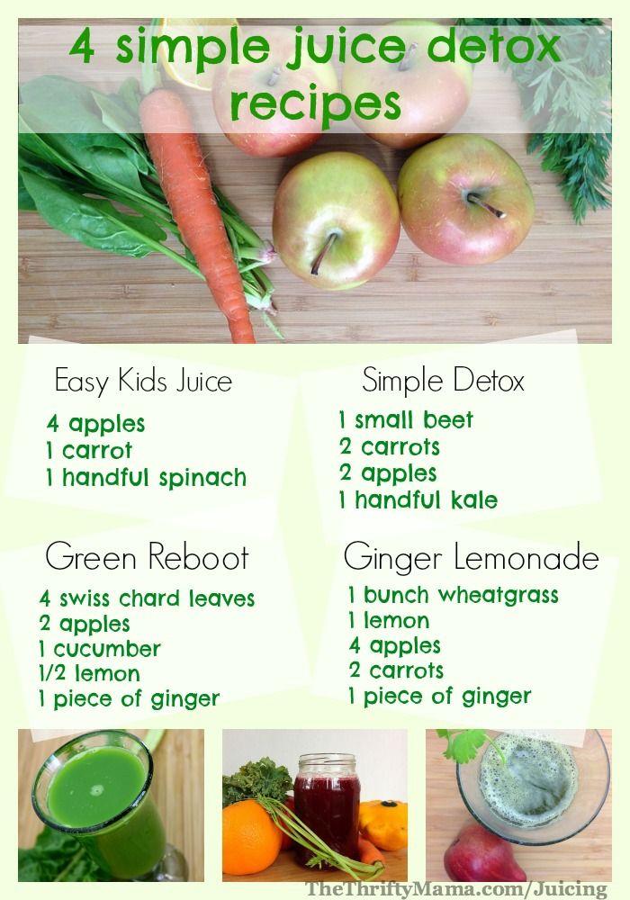 4 simple juices