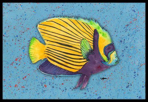 Tropical Fish Doormat
