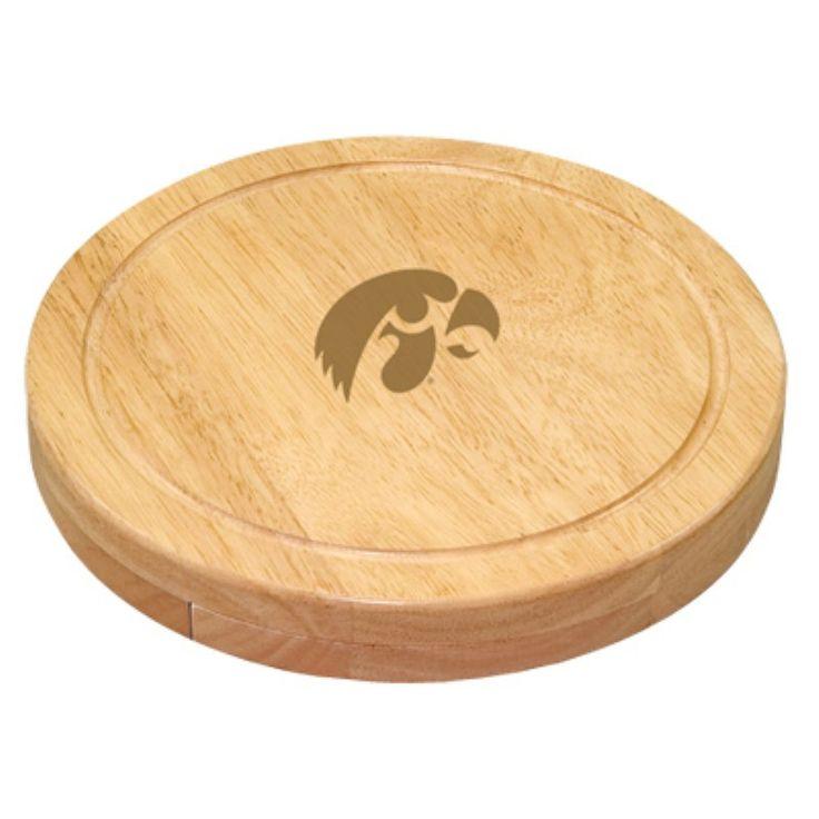 Picnic Time Collegiate Circo Cheese Board Set - 854-00-505-223-0