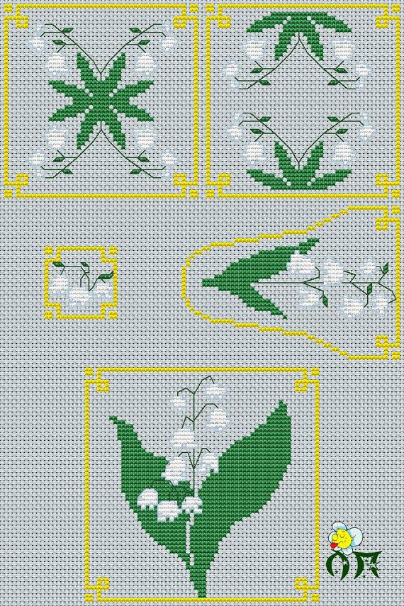 Cross stich pattern Set for sewing