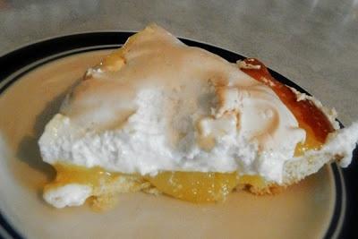 Ces temps ci....en cuisine: Tarte au citron