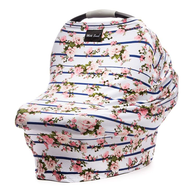 The Milk Snob Cover is the original fitted infant car seat cover that can also be used as a nursing cover. Available in bold prints and made from the softest of fabrics, this will instantly become one