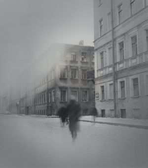 Dostoyevsky apartment, Kaznacheyskaya Street, 1995