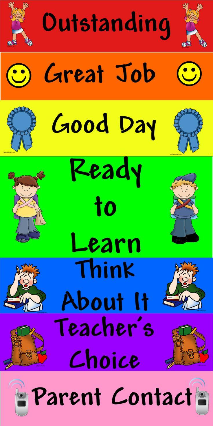 7 best School images on Pinterest | Behavior charts, Behaviour chart ...