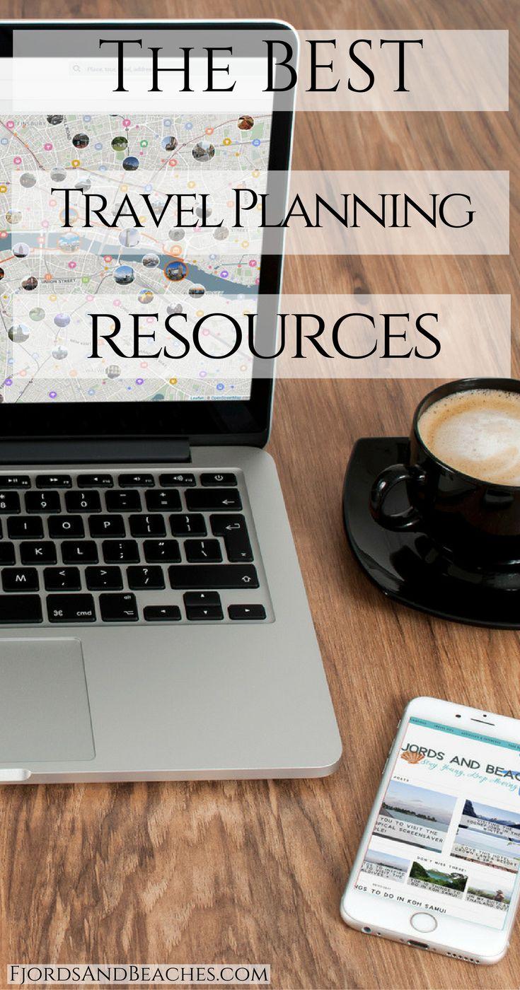 Travel planning resources. Websites for travel planning. Trip planning websites and resources.