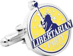 1971 Libertarian Party Button Cufflinks    http://www.shoebuy.com/cufflinks-inc-1971-libertarian-party-button-cufflinks/495824