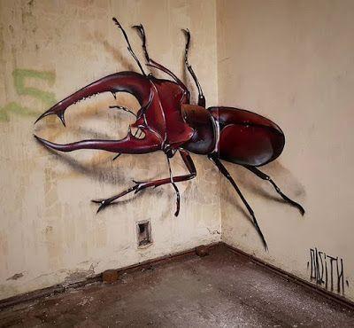 Stunning 3D Graffiti Artwork by Portuguese Artist Odeith  – Odieth
