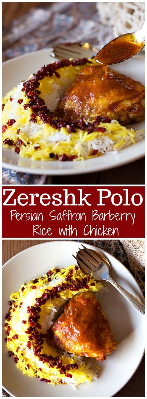 One of the most famous and most famous dishes of Persian Cuisine. Zereshk Polo Morgh is a dish full of great flavors like saffron!