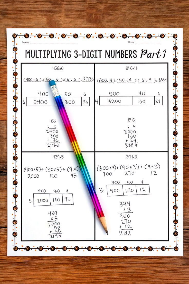 Teaching Multi Digit Multiplication Multi Digit Multiplication