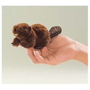 Folkmanis Puppet Mini Beaver $7.58