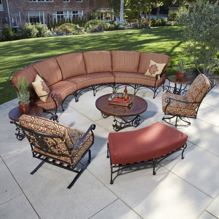 17 Best Images About Outdoor Sectionals On Pinterest