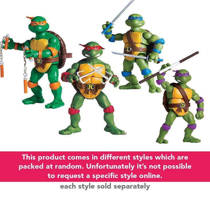 Teenage Mutant Ninja Turtles - Classic Collection - Assorted | ToysRUs Australia