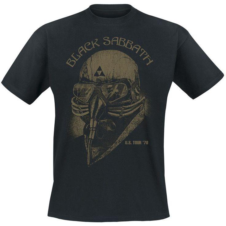 Black Sabbath Shirt #blacksabbath #bandshirt #empstyle