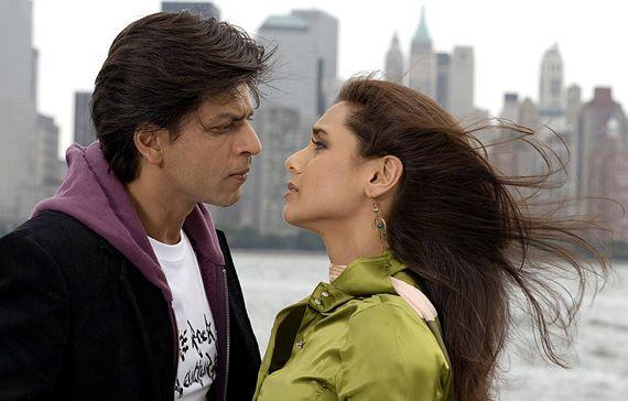 Kabhi Alvida Naa Kehna (2006) with Shah Rukh Khan and famous Amitabh Bachnan, another love story! Kinda sad, but interesting!