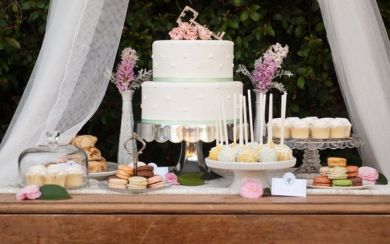 Delphinium Designs ,  Emilee Sutherland ,  The Vintage Table Co ,  Meghan Christine Photography ,