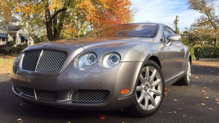 2005 Bentley Continental GT coupe  | eBay